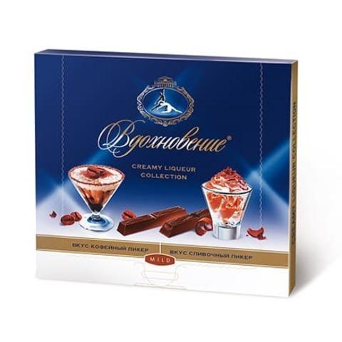 Шоколад Вдохновение Creamy Liqueur Collection, 180 гр.
