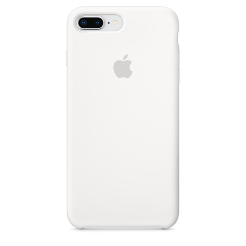 Чехол IP6 PLUS Silicone Case White