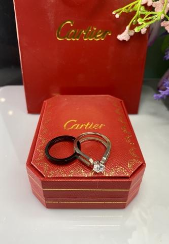 Кольцо Cartier двойное