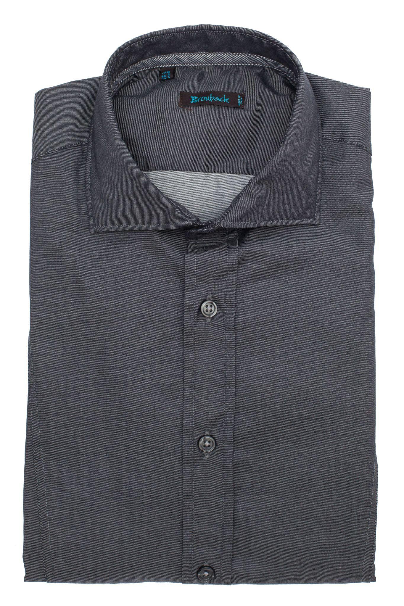 Тёмно-серая рубашка