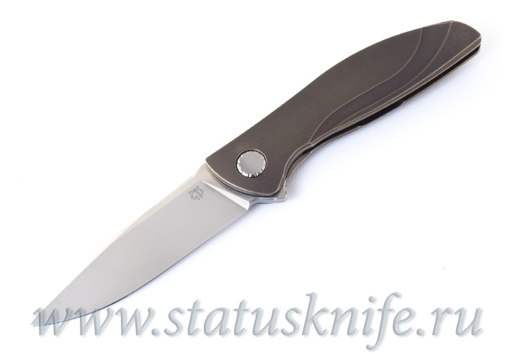 Нож Широгоров Неон NeOn CD Bronze Custom Division - фотография