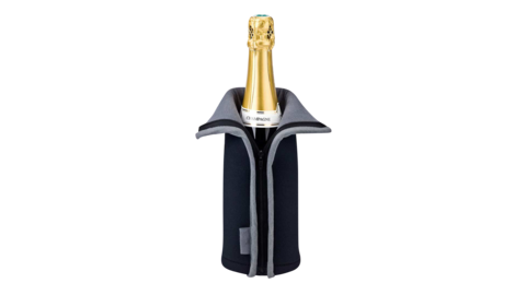FRIO - Чехол для охлаждения вина черный (cooling jacket)