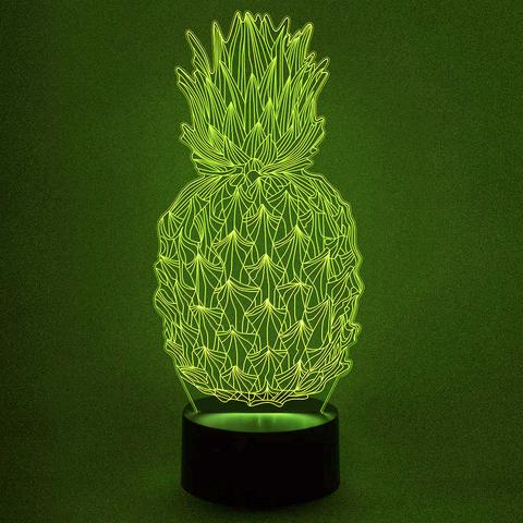 светильник ананас