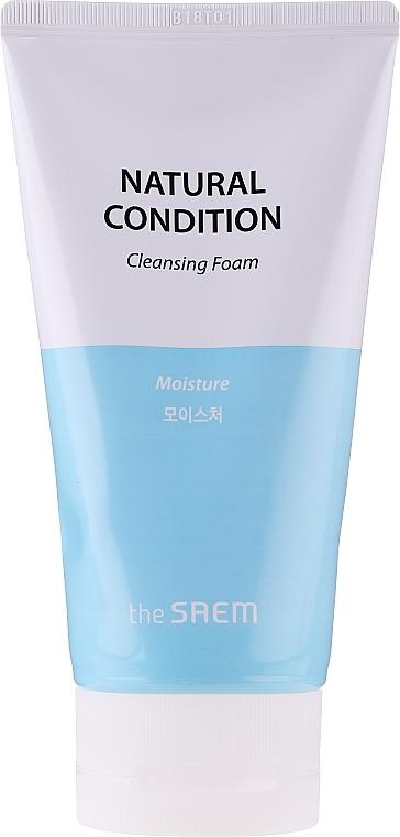 Пенка для умывания увлажняющая  Natural Condition Cleansing Foam  The Seam  150мл