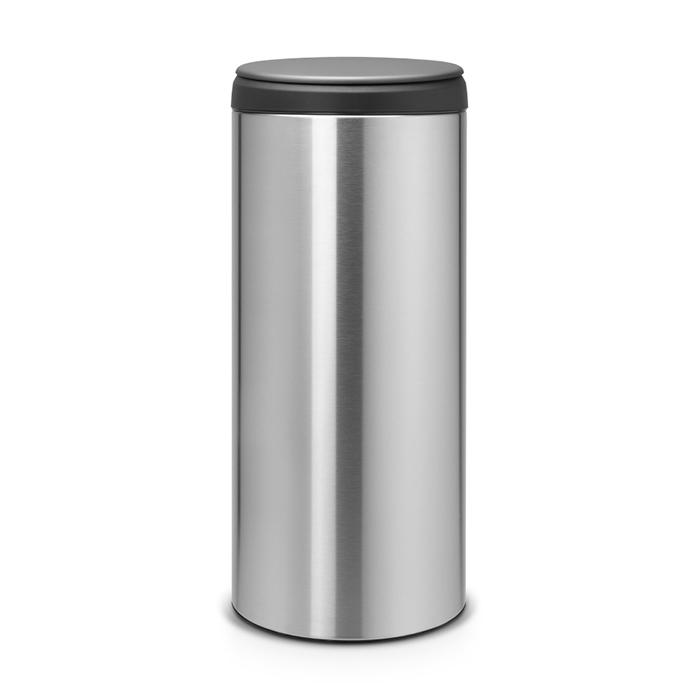 Мусорный бак Flip Bin (30 л), Стальной матовый (FPP), арт. 106965 - фото 1