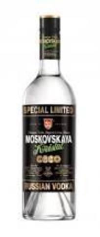 Водка Московская Кристалл 0,5л