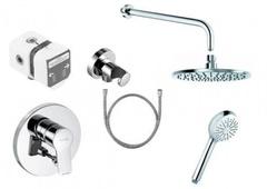 Комплект душевой системы внутреннего монтажа Kludi Pure&Easy 376400565 фото