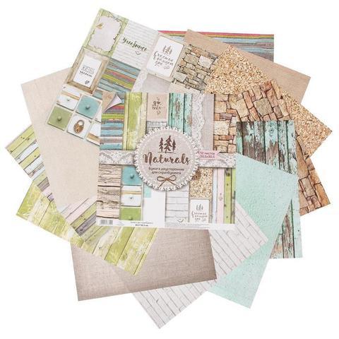 Набор бумаги для скрапбукинга Naturals