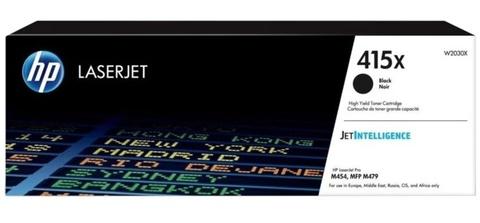 Оригинальный картридж HP W2030X 415A черный