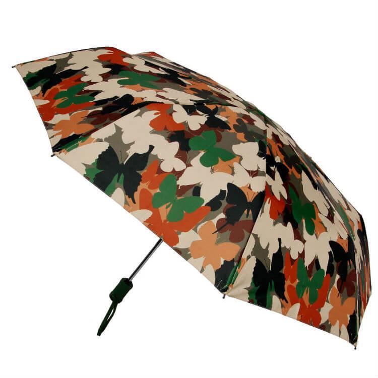 Зонт складной Barbarina 2307 Butterfly camouflage