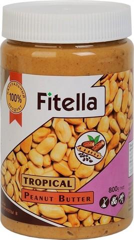 Паста Fitella арахисовая тропическая 800г