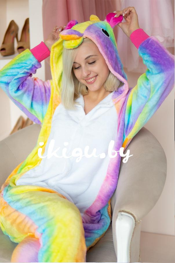 Пижамы кигуруми Радужный единорог радужный_даша1.jpg