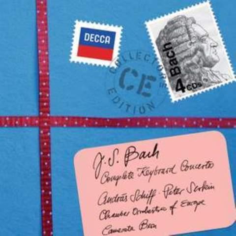 JS Bach: Complete Keyboard Concertos