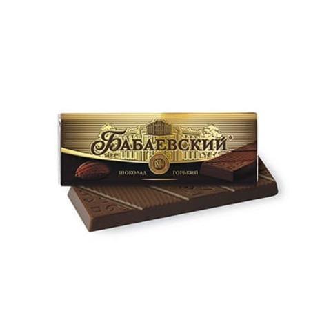 Шоколад Бабаевский горький, 20 гр.