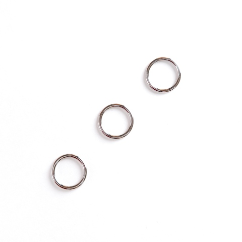Кольцо для бретели никель 15 мм (металл)