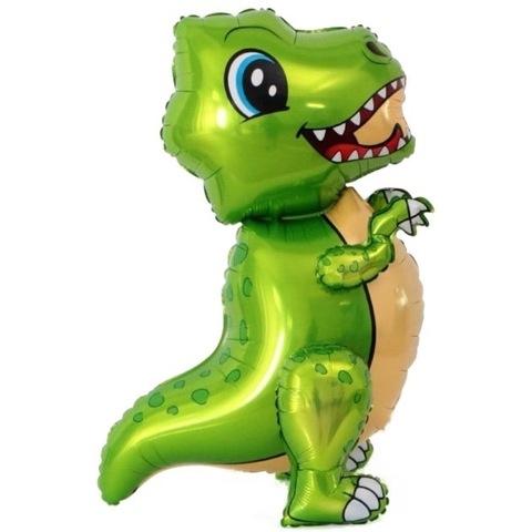 Фигура Динозавр тиранозавр салатовый, 76 см