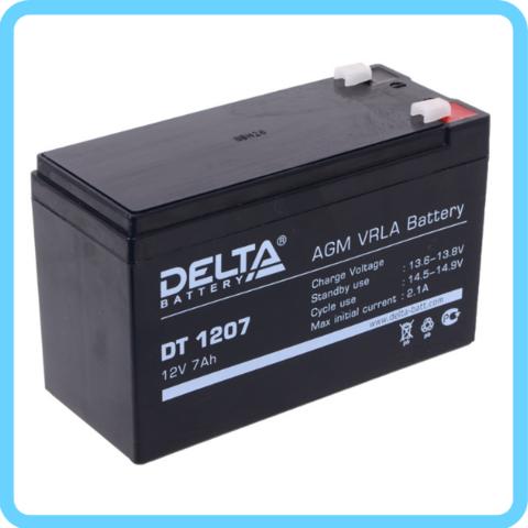 Аккумулятор Delta DT 12V/7A