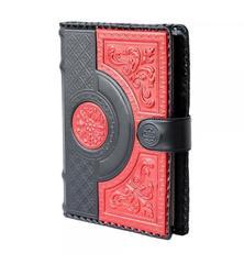 Ежедневник кожаный «Флоренция» красный