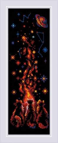 Набор для вышивания крестом «Магия ночи» (1892)