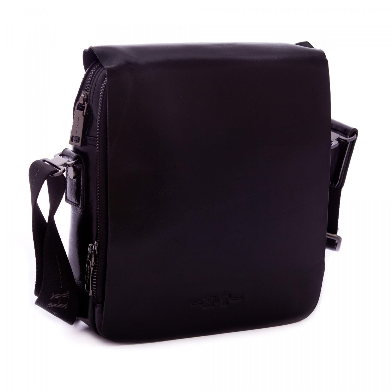 Кожаная сумка планшет HT 03598