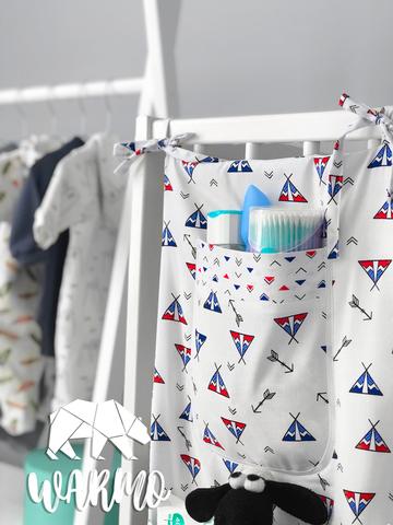 органайзер на дитяче ліжечко з вігвамами фото
