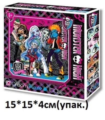 Пазлы 100 эл. Monster High 00193 (АСТ)