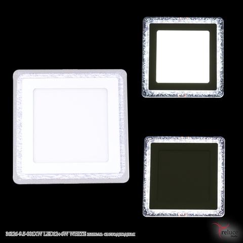 36126-9.5-001XW LED12+6W WHITE панель светодиодная