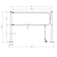 RTA-011 Механическая секция «Антипаника» CARDDEX