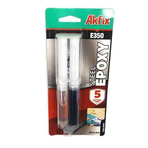 Клей эпоксидный Akfix Е350 для стали