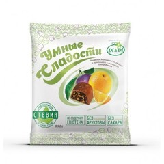 Конфеты без сахара, Di&Di, Умные сладости, Чернослив с апельсином, 210 г