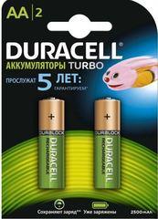 Аккумуляторы Duracell Turbo Ni-MH R6 (AA) 2500mAh