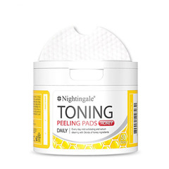 Пилинг салфетки Nightingale Toning Peeling Pads Honey 50шт.