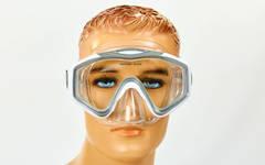 Набор для плавания: маска с моностеклом и трубка с клапаном, Zelart