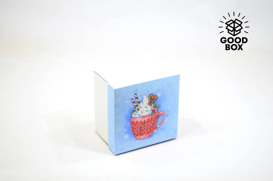 Новогодние коробки купить в Алматы недорого