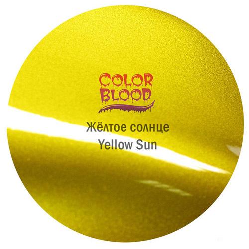 Color Blood (Bugtone) Краска Color Blood Yellow Sun базовая прозрачная (кенди) Жёлтое солнце, 50мл CB-3835-50.jpg