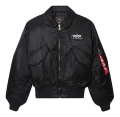Куртка Alpha Industries CWU 45/P Black (Черная)