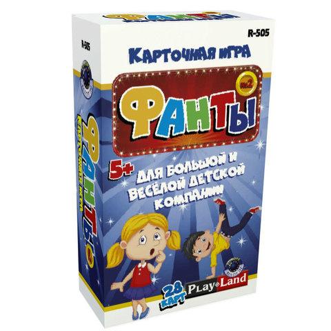 Карт.игра Фанты 28 карт для детей №2/R-505