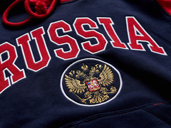Толстовка Россия (женская)