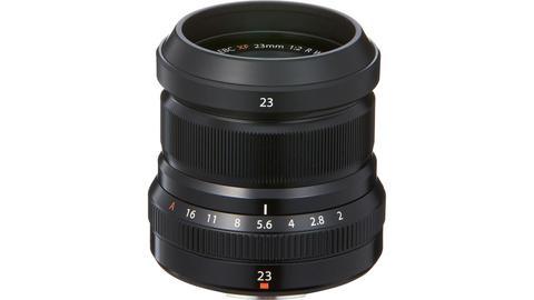 Fujifilm XF 23mm f/2 R WR Black