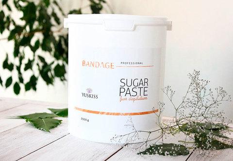 Сахарная паста для шугаринга YUSKISS 3,5кг (BANDAGE)