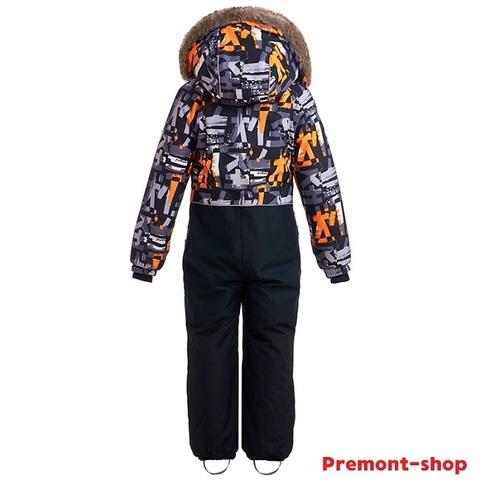 Комбинезон для мальчика Premont Лес Уайтхорса WP92176 Black