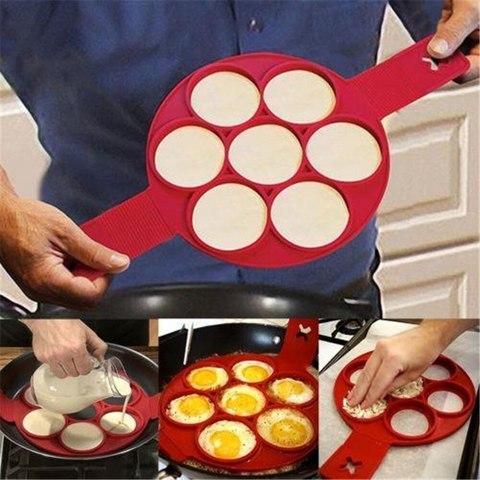 Силиконовая форма Flippin Fantastic для приготовления блинчиков и яичницы