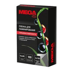 Пленка для ламинирования Promega office 54x86 мм 100 мкм глянцевая (100 штук в упаковке)