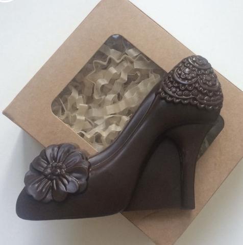 Пластиковая форма для шоколада жен. ТУФЕЛЬКА ЖЕНСКАЯ 80х75мм