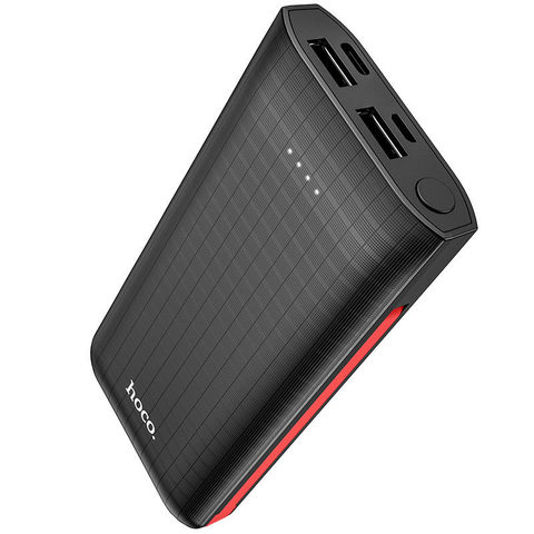 Внешний аккумулятор Power Bank Hoco J67 10000mAh (Черный)