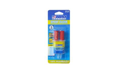 ABRO Клей эпоксидный прозрачный в шприце (25мл) EС-300R