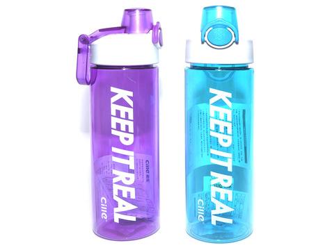 Бутылка для воды. Материал: пластик, силикон. Объём 700ml. XL-1916
