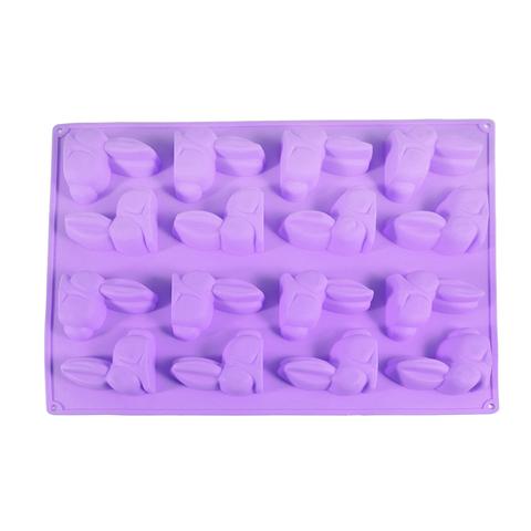 """6556 FISSMAN Форма для льда и шоколада """"Зайцы"""" 29x22,5x1,7 см,  купить"""