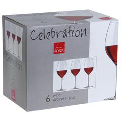 Набор из 6 бокалов для вина «Celebration», 470мл, фото 6