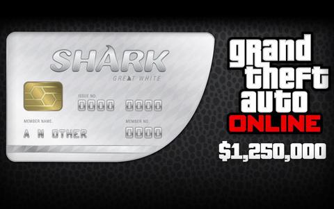 Grand Theft Auto Online : Great White Shark Cash Card (для ПК, цифровой ключ)